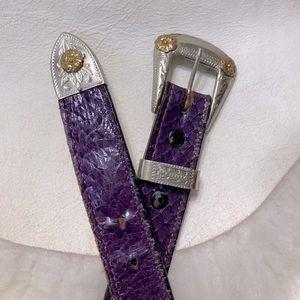 Justin's Boots Snakeskin Belt